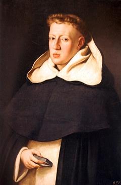 Retrato de Fray Alonso de Santo Tomás por Juan Bautista Maíno.